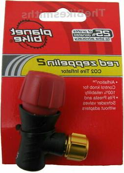 PB 1024 RED ZEPPELIN-2 Co2 Bike Tire Inflator Head Presta /