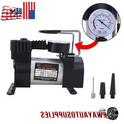 12V 150PSI Heavy Duty Portable 1 Car Tire Inflator Electric