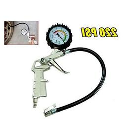 Air Auto Gage Tire Inflator For Air Compressor With Pressure
