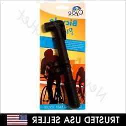 Bicycle Bike Compact Light Portable Hand Air Pump Tire Infla