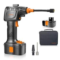 autowit Cordless Tire Inflator Portable Handheld Air Compres