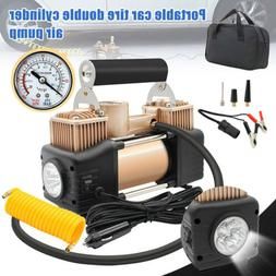 HEAVY DUTY Portable Air Compressor For Car Tire Pump Inflato