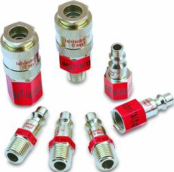 EPAuto Industrial Type D 1/4-Inch Coupler and Plug Kit, 7 Pi