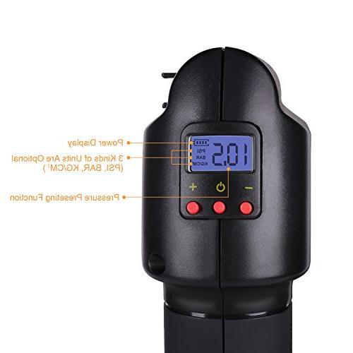 Oasser Air Inflator Pump with Rechargeable P2