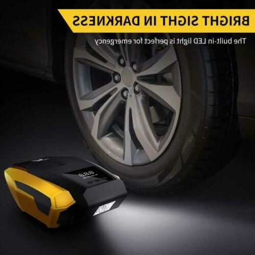 12V Tire Inflator with Display Car