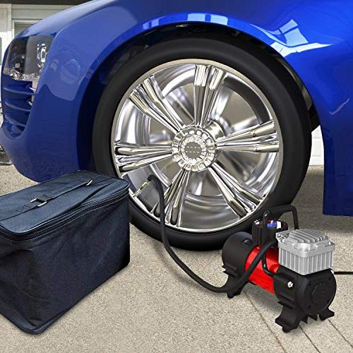 Mbrain DC 12V Air Tire Inflator Tire for PSI