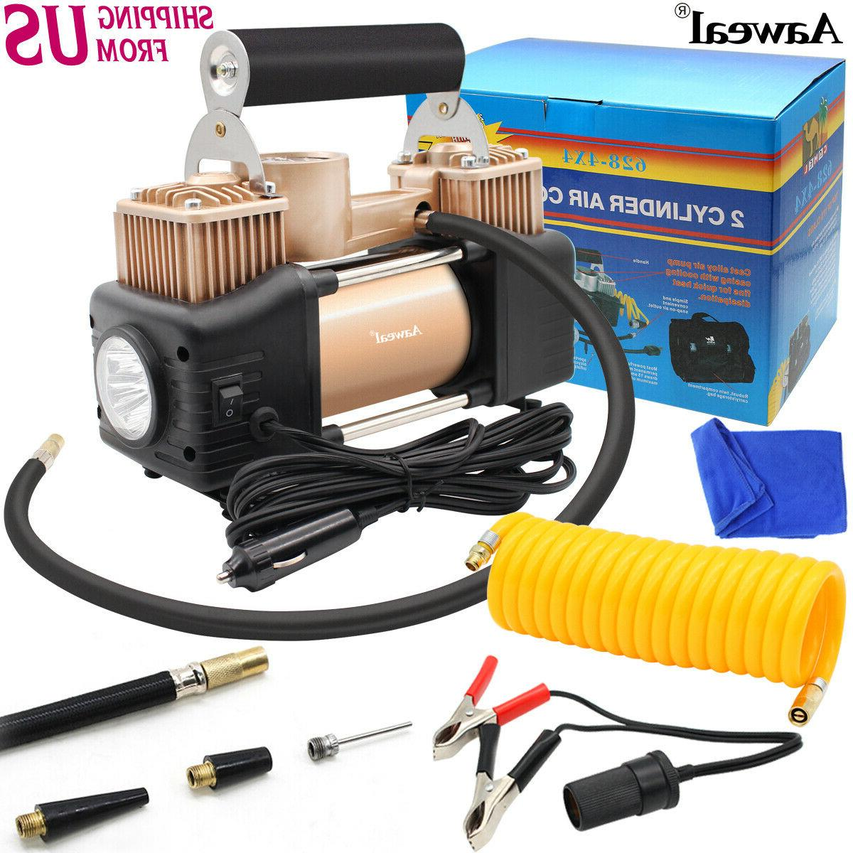 heavy duty 12v portable 150psi car tyre