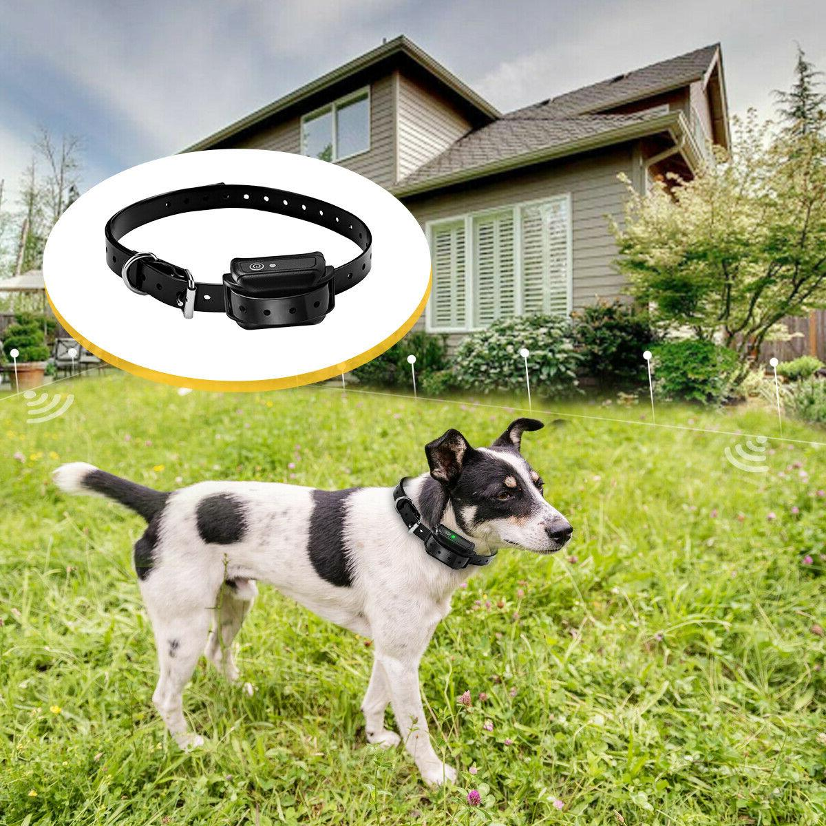 Wireless Waterproof Containment Collar 3 Dog