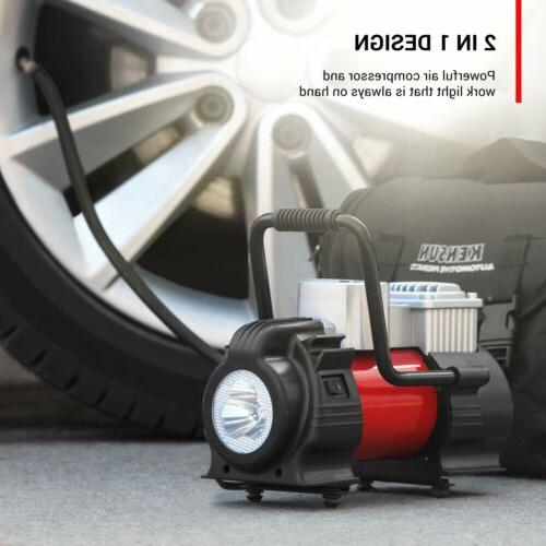 KENSUN Portable Tire with PSI