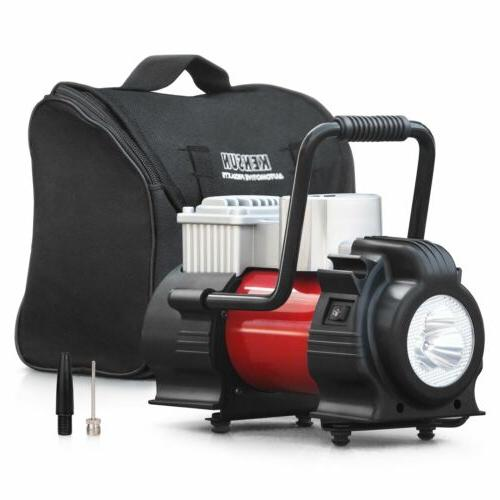 portable tire inflator with digital display 12v