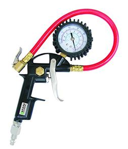 Dynamic Power Pistol Style Tire Inflator with Gauge. Combine