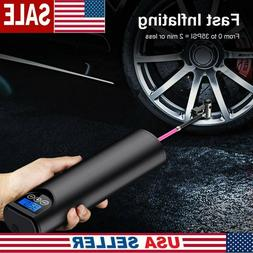 Portable Wireless Electric Air Pump Tire Inflator For Auto C