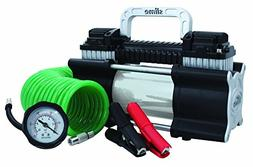 Slime 2X Heavy Duty Direct Drive TIRE INFLATOR, Dual Cylinde